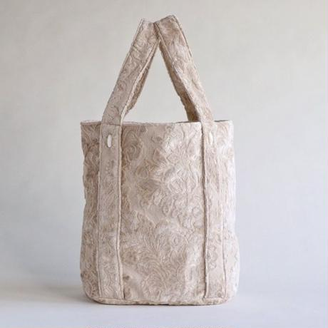 damask tote bag (ecru)