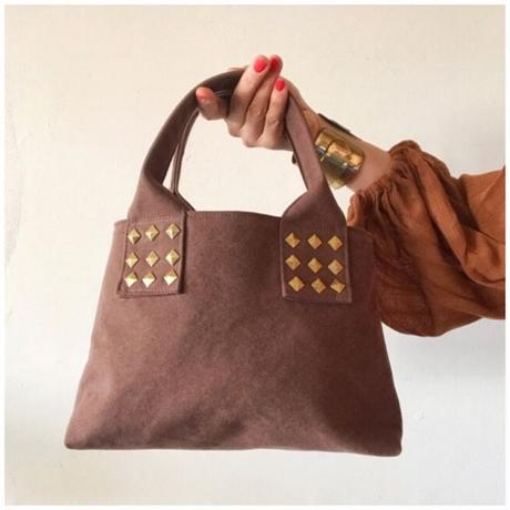 canvas tote bag mini (brown)