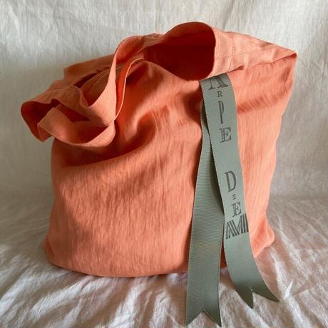 pastel color tote bag (apricot)