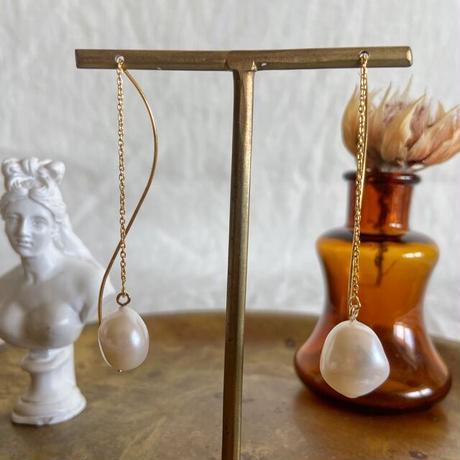 baroque pearl pierce