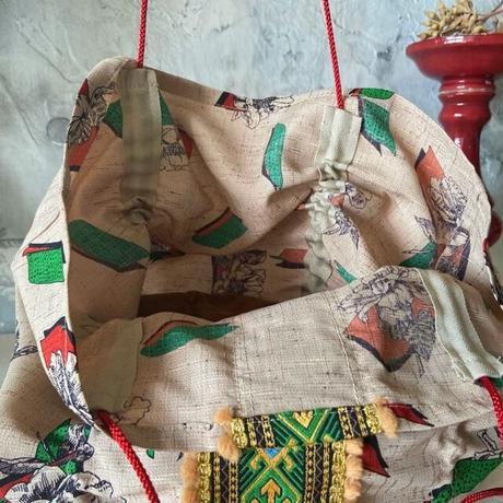 vintage  cloth  bag (j)