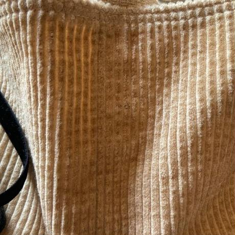 cotton hemp corduroy sakosh