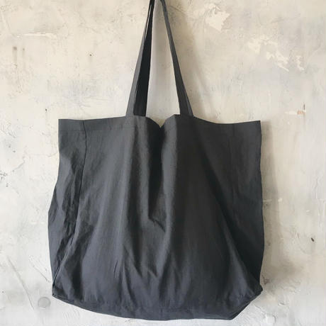 cotton linen bag (charcoal gray)