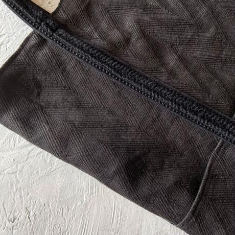 french linen herringbone bag