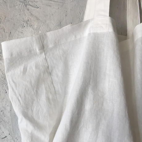 cotton linen bag (white)