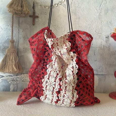 vintage  cloth  bag (h)