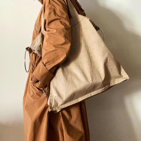 fanage cotton 2way bag (beige)