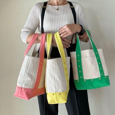 canvas tote bag medium (pink)