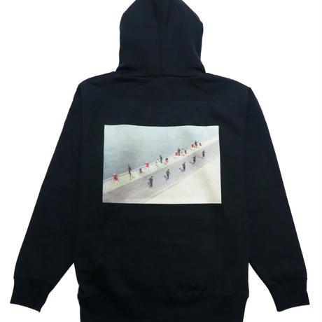 motoki × AMP  hoodie