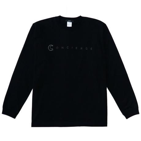 concierge long sleeve T-shirt (black)