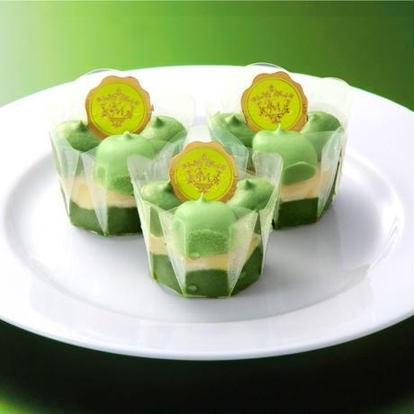 唐芋レアケーキ2本セット(ラブリー・抹茶オレ)