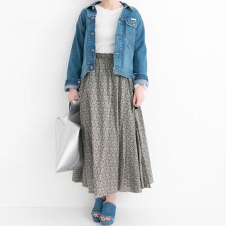 【WOMENS】ne Quittez pas×UR 別注ギャザースカート