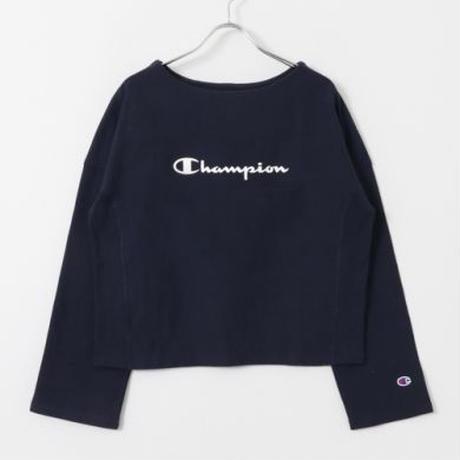 【WOMENS】Champion×UR 別注ロングスリーブロゴカットソー