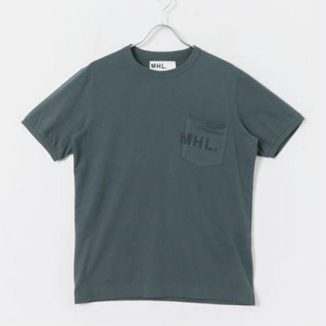 【MENS】MHL.×URBAN RESEARCH 別注LOGO T-SHIRTS