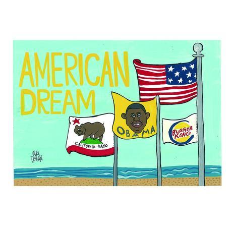 020 Obama postcard