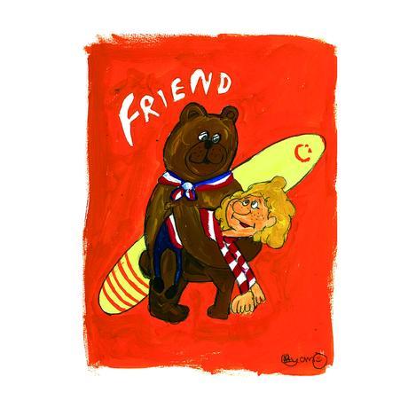 022 SurfFriend postcard