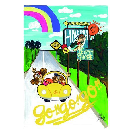 004 GOGOGO postcard
