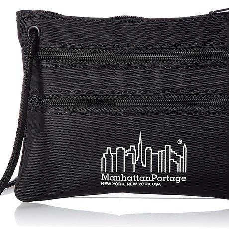 Manhattan Portage(マンハッタンポーテージ) ショルダーバッグ Triple Zipper Pouch サコッシュ TRIPLE ZIP POUCH
