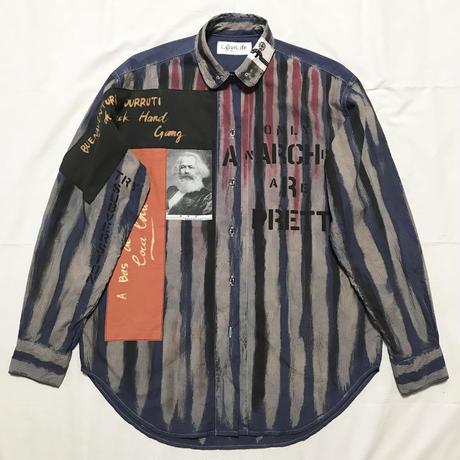 Newアナーキーシャツ メンズL  マルコムtype044