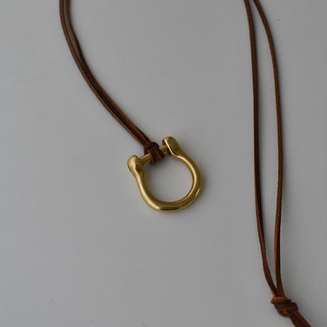 necklace-a02054   2Way  Brass  Long  Necklace