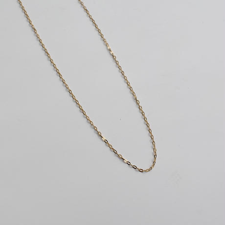 necklace-a02035 K18 bean chain Necklace