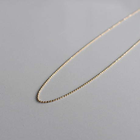 necklace-a02059 K18  Ball Chain Necklace