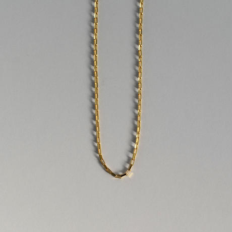 necklace-a02058  SV925  Square  Chain  Necklace