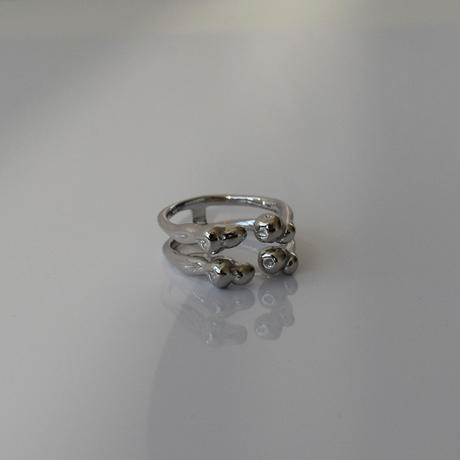 ring-a02096  SV925  Double   Aloof  Ring