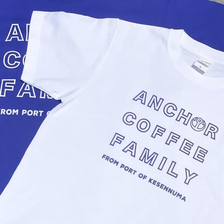 「ANCHOR COFFEE FAMILY」Tシャツ(S〜XXLサイズ)