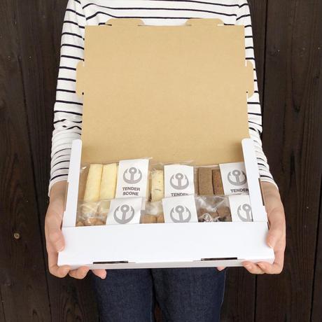 ぽりぽりクッキー・やわらかスコーン6種セット