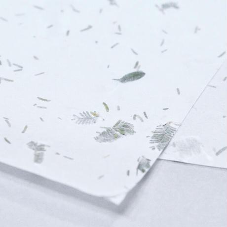 花和紙 invisible flower LEAVES