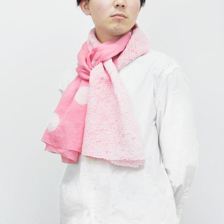 有松ストール MIX (KOBOSHI×MOKUME)