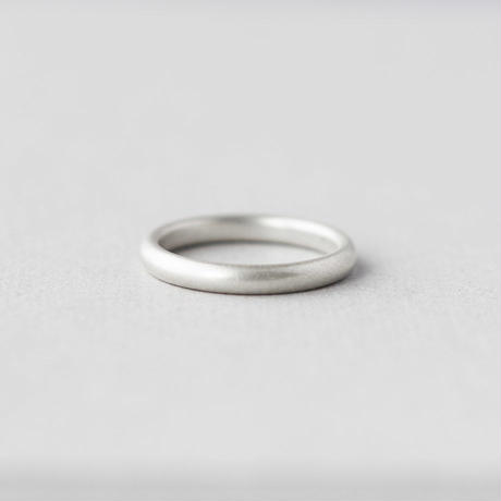 [10min Ring] Silver925 / シルバーリング 甲丸 M