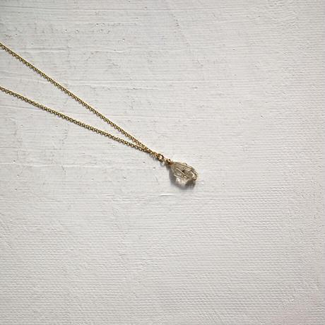 K14GF ハーキマーダイヤモンドネックレス [10min Accessory] ゴールドフィルドチェーン使用
