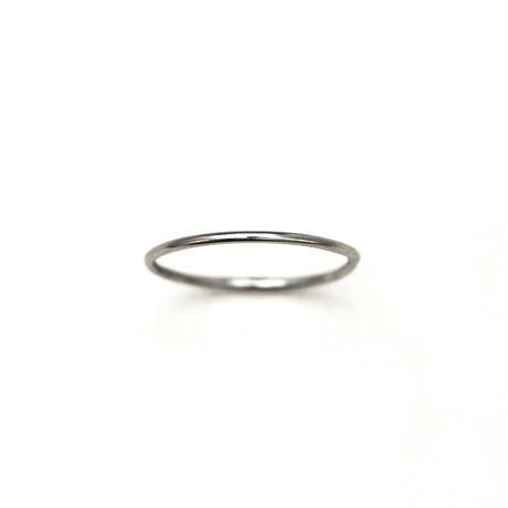 [10min Ring] Pt950 / プラチナ / 幅1.0mm / デザインを選べるセミオーダーリング
