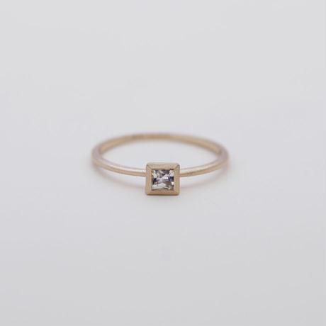 [Artisan Works] K10PG / Blue-Moon-Stone Ring / 10金ピンクゴールドリング ムーンストーン/華奢な指輪