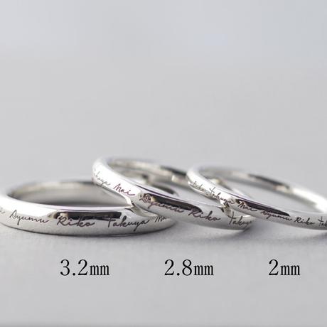 [Artisan Works] Silver925 / Family Ring / ファミリーリング 刻印無料/指輪