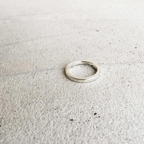 [INITIAL] Silver925 / シンプル・フラットリング / シルバー925 指輪