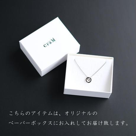 [Atelier CraM] リングホルダーネックレス / 指輪をネックレスに変える魔法のアイテム / 金属アレルギー対応のサージカルステンレス製 / Ring Holder Necklace