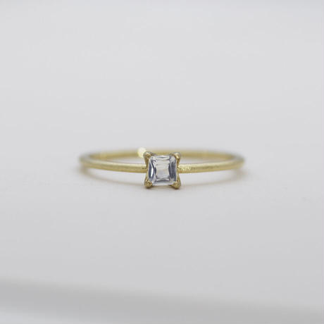 [Artisan Works] K10YG / Blue-Moon-Stone Ring / 10金ゴールドリング ムーンストーン