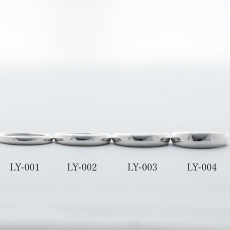 [Laugh&Yoke] Silver925 / Oval-LL 甲丸リング / シルバー925/指輪/大ぶりリング