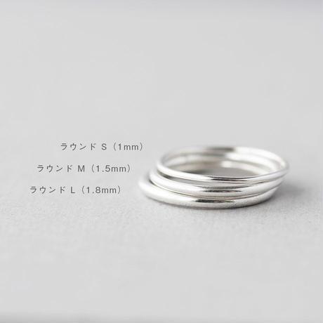 [10min Ring] Silver925 / シルバーリング ラウンド S