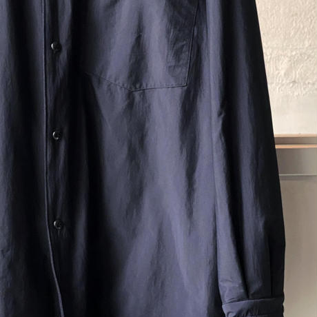 COMOLI ナイロン シャツジャケット