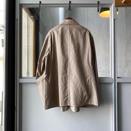 COMOLI ヨリ杢コットンジャケット