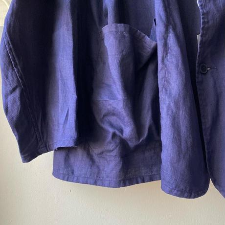 COMOLI   リネンWクロス ジャケット