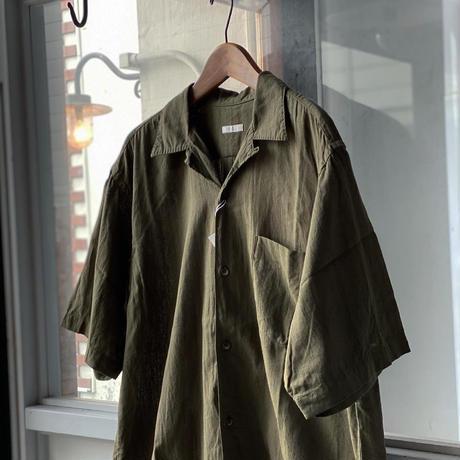 COMOLI  ベタシャン  オープンカラーシャツ