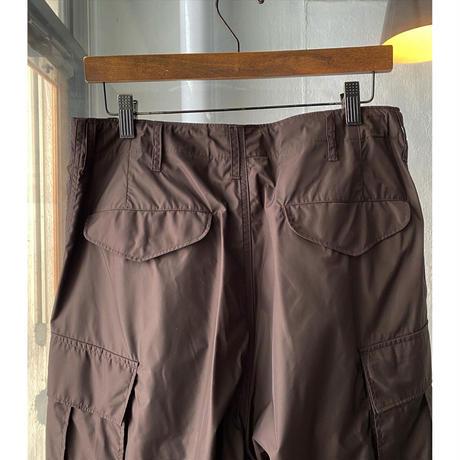 AURALEE   HIGH COUNT LIGHT NYLON FATIGUE PANTS  A21SP02NL  (mens)