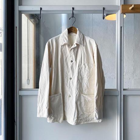 COMOLI  エクリュデニムワークジャケット