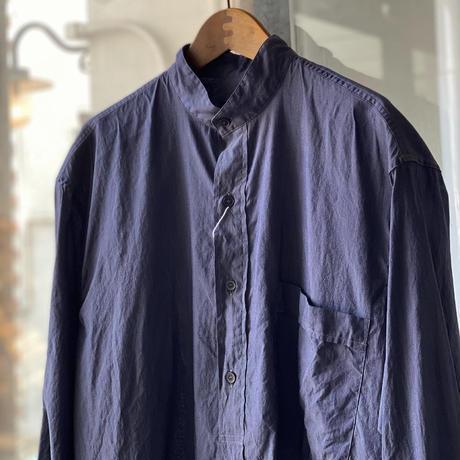 COMOLI   コットンシルク プルオーバーシャツ