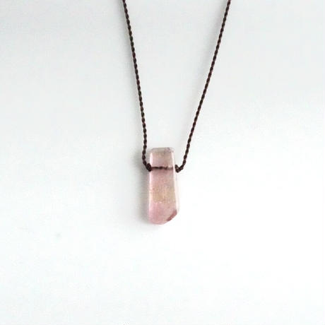 Margaret Solow Small Geometric  Necklace    Tourmaline